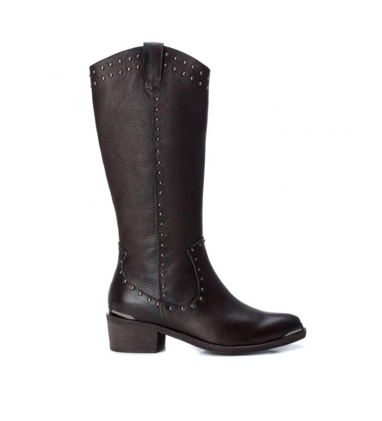 Comprar Carmela Bottes en cuir 067079 marron -Hauteur du talon : 4cm