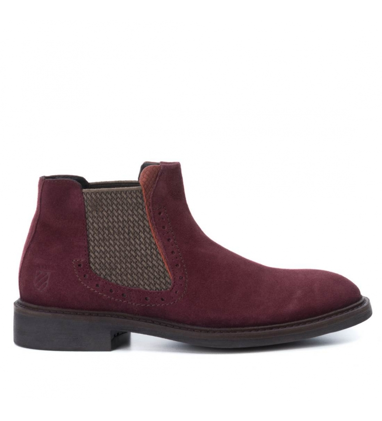 Comprar Carmela Booty leather 065751 burgundy