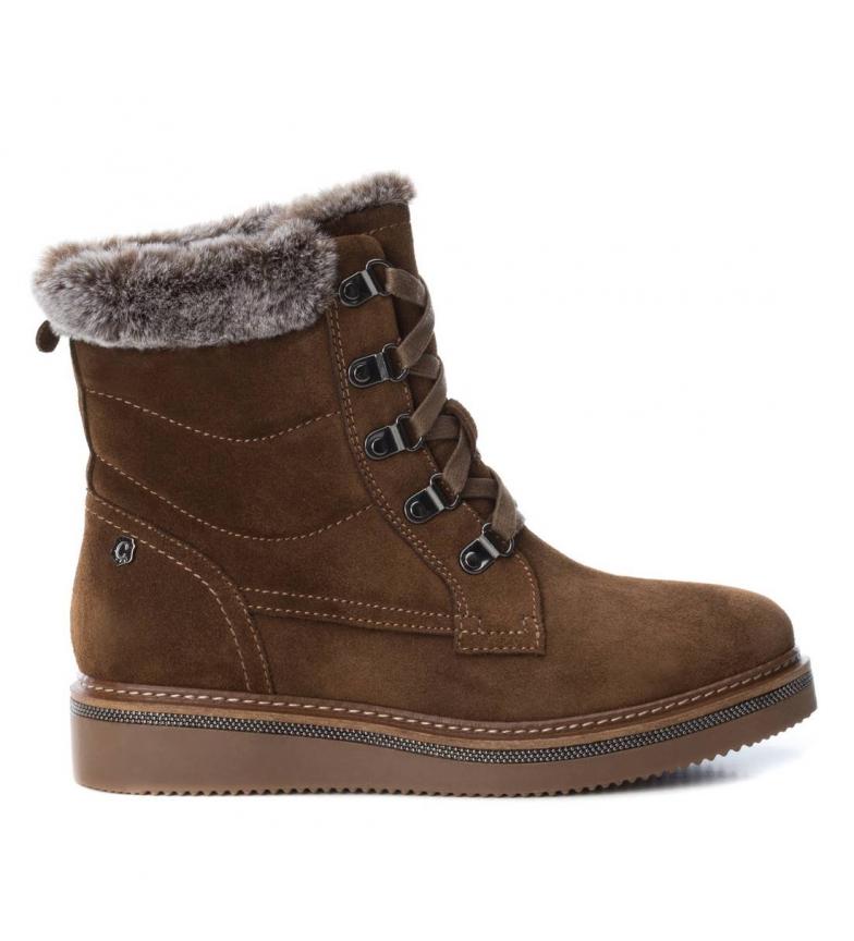 Comprar Carmela Leather boots lace 066415 camel