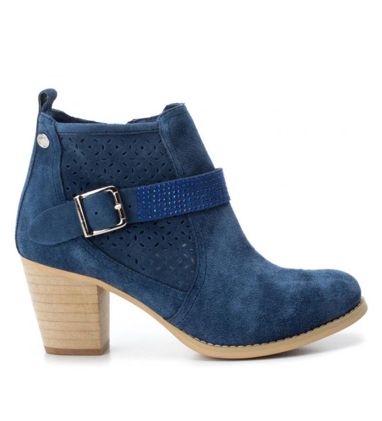 jeans Botín Botín de Carmela Carmela serraje Carmela serraje serraje Botín de jeans de 0wASET