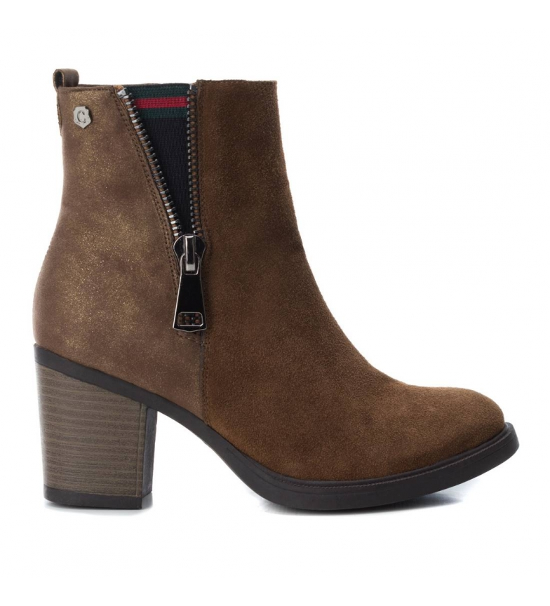 Comprar Carmela Botte chelsea en cuir 066600 camel