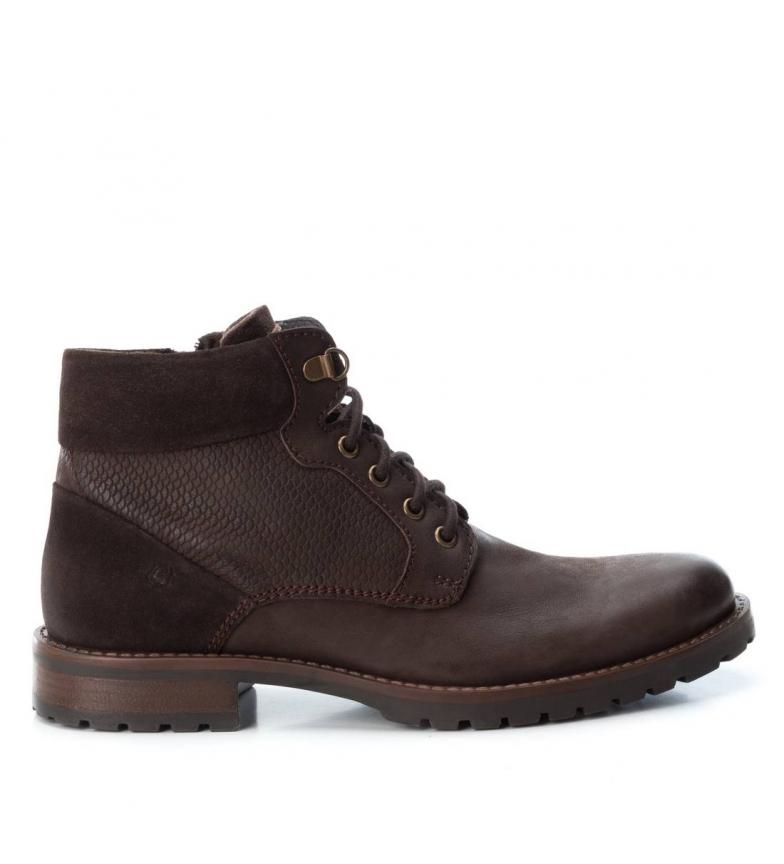 Comprar Carmela Botines de piel 067039 marrón