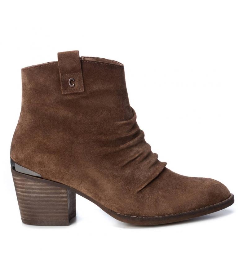Comprar Carmela Bottes en cuir 066831 camel - Hauteur du talon : 6cm