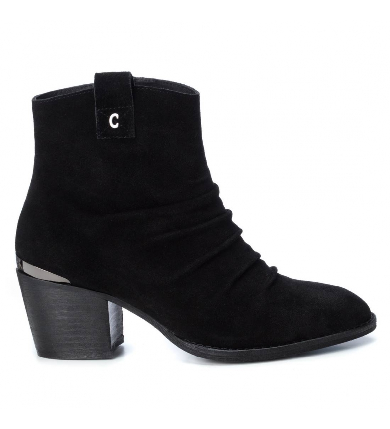 Comprar Carmela Stivaletti in pelle 066831 nero -Altezza tacco: 6 cm-
