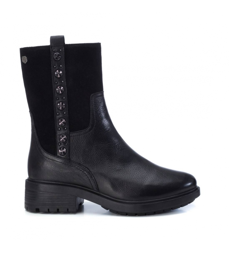 Comprar Carmela Leather ankle boots 066865 black -Heel height: 4cm