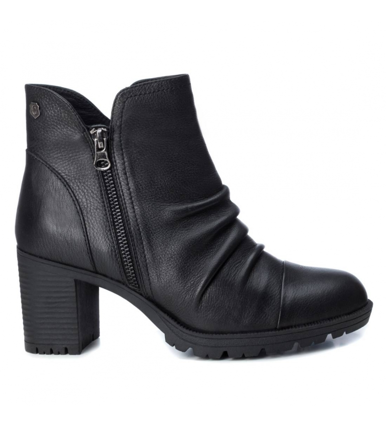 Comprar Carmela Leather ankle boots 066869 black -heel height: 7cm