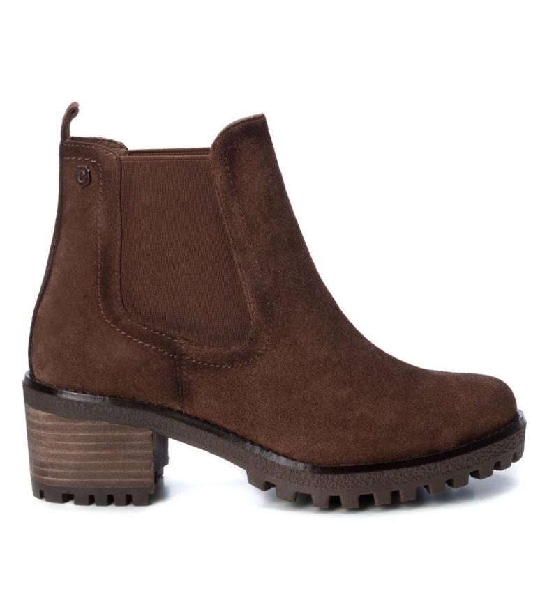 Comprar Carmela Leather ankle boots 0669229 camel -Heel height: 6cm