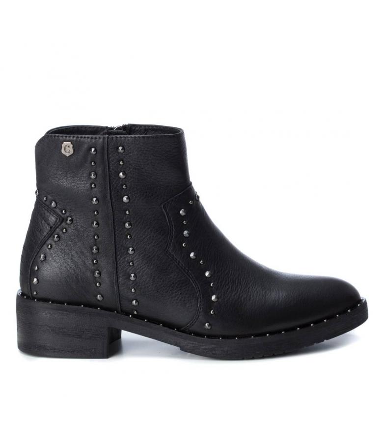 Comprar Carmela Leather ankle boots 066967 black -Heel height: 4cm