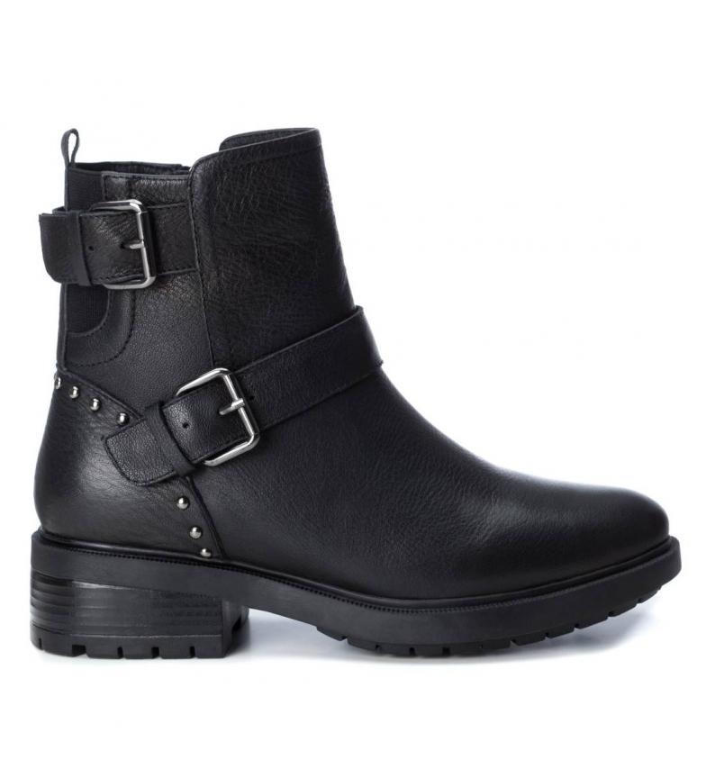 Comprar Carmela Botines de piel 067000 negro -Altura tacón: 4cm-
