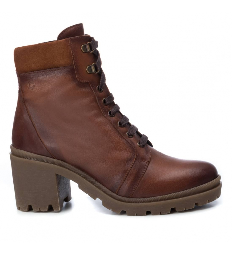 Comprar Carmela Leather boots 067051 camel