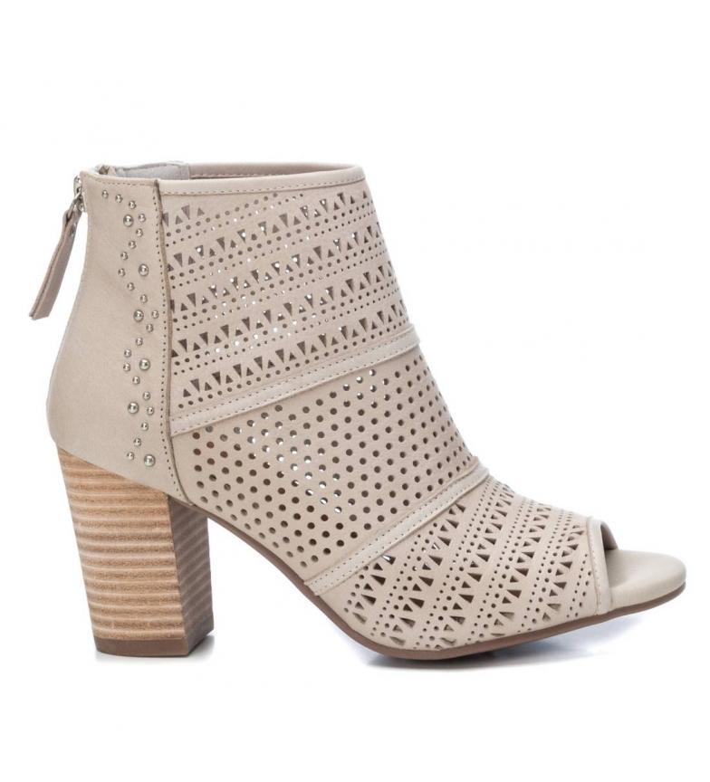 Comprar Carmela Leather boots 067181 ice -Heel height: 8cm