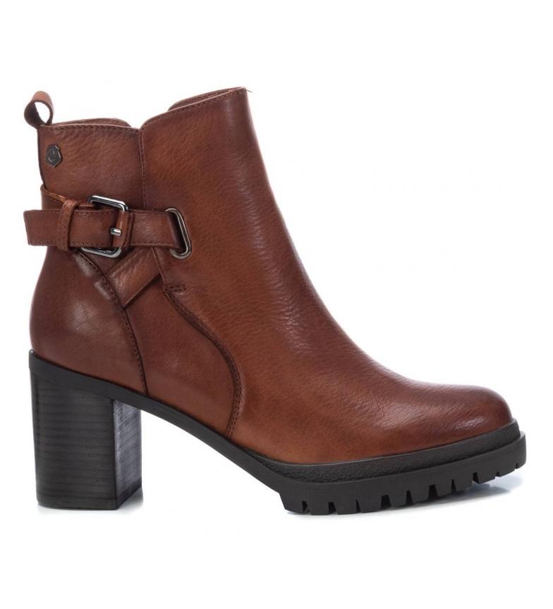 Comprar Carmela Bottines en cuir 067564 camel - hauteur du talon : 9cm