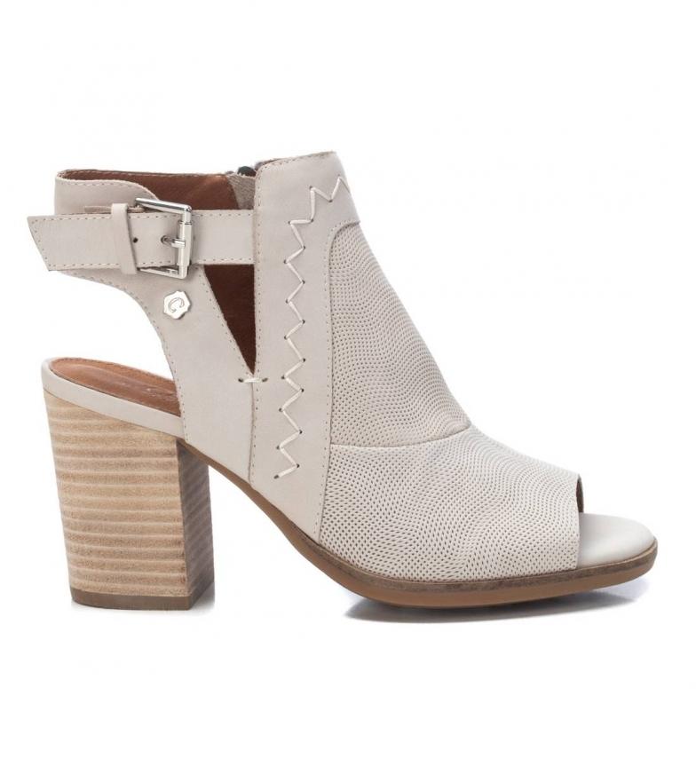 Comprar Carmela Botines de piel 067670 blanco -Altura del tacón: 9cm-