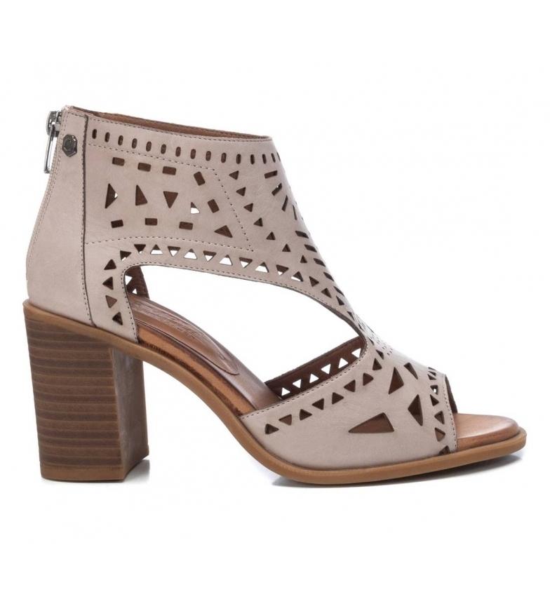 Comprar Carmela Leather ankle boots 067760 ice -Height heel 8cm