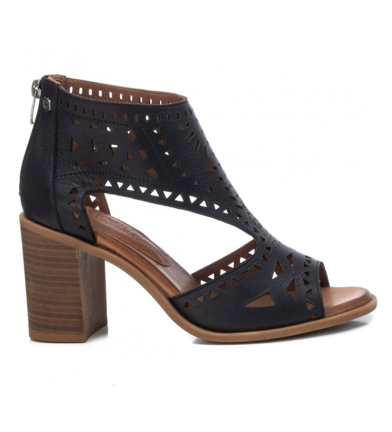 Comprar Carmela Leather ankle boots 067760 black -Height heel 8cm