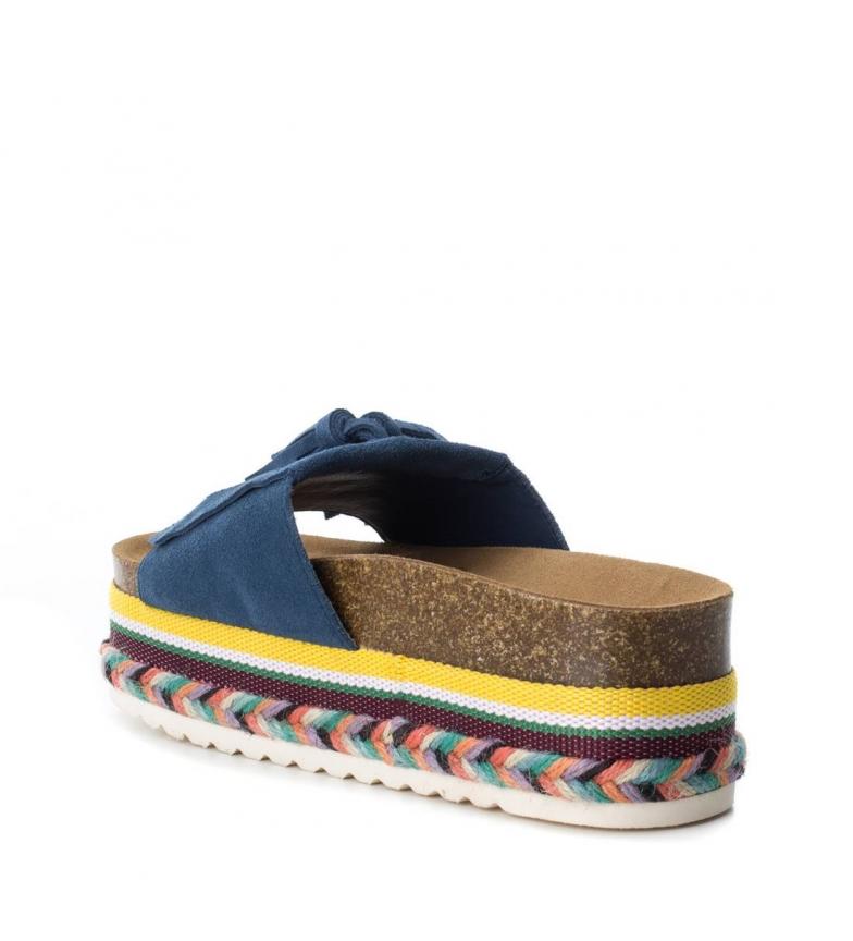Altura jeans Carmela plataforma Sandalia de 6cm piel 474wx8P