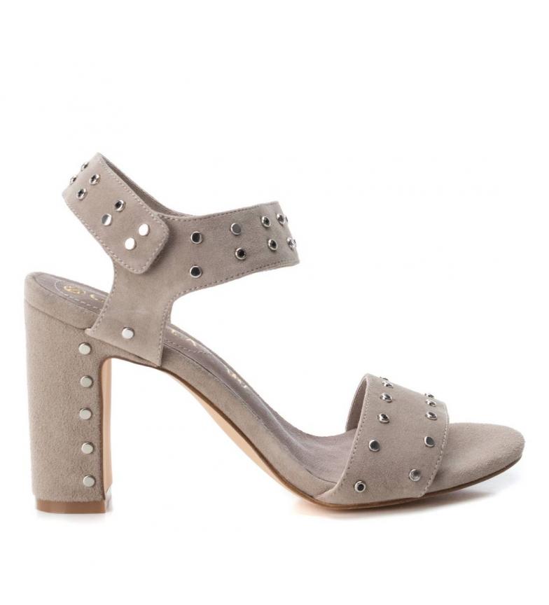 Comprar Carmela Leather sandals 066630 taupe -heel height: 10cm