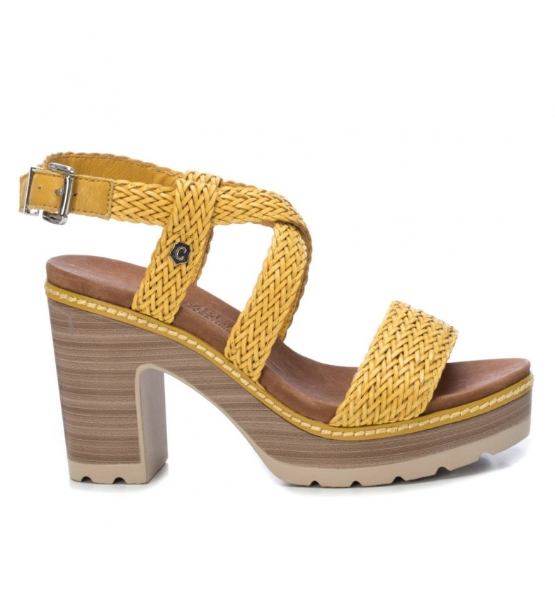 Comprar Carmela Sandals 067189 yellow -Heel height: 10cm