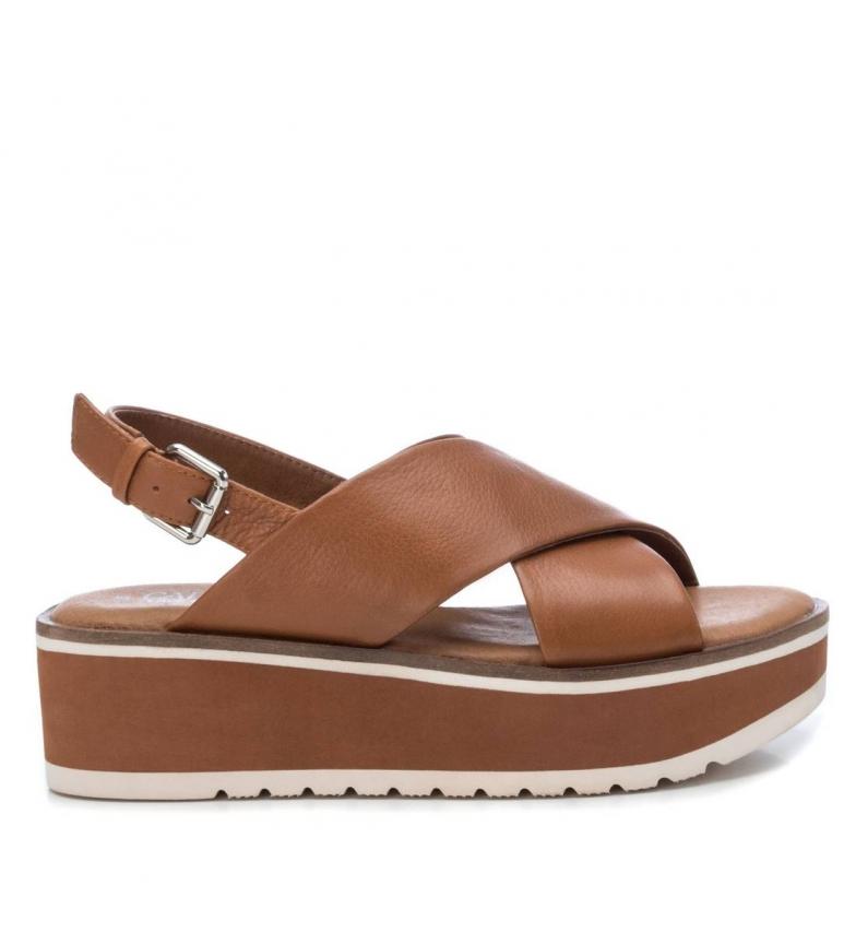Comprar Carmela Sandali in pelle 067275 marrone - Altezza piattaforma: 5cm