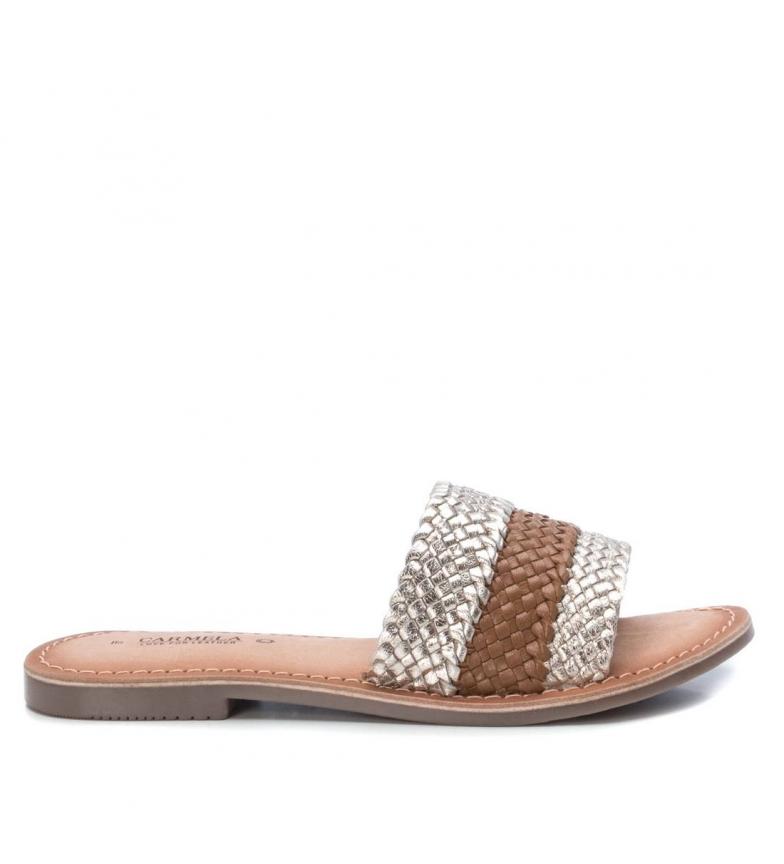Comprar Carmela Leather sandals 067282 gold