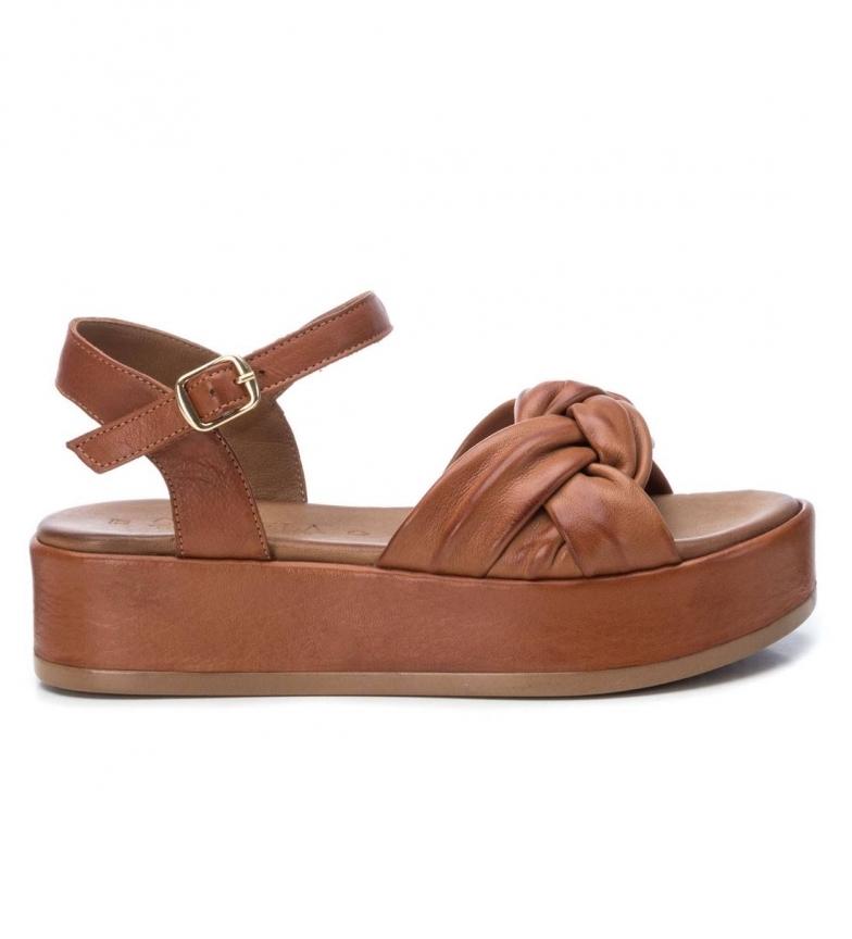 Comprar Xti Sandales en cuir marron 067297