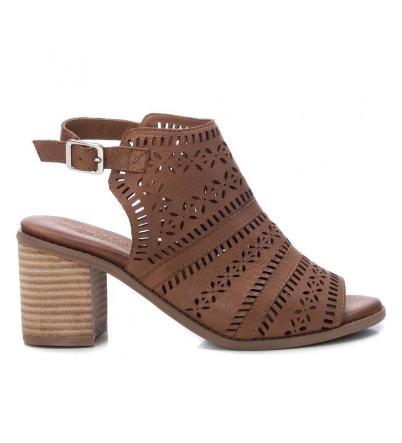 Comprar Carmela Botines de piel 067679 camel -Altura del tacón: 8cm-