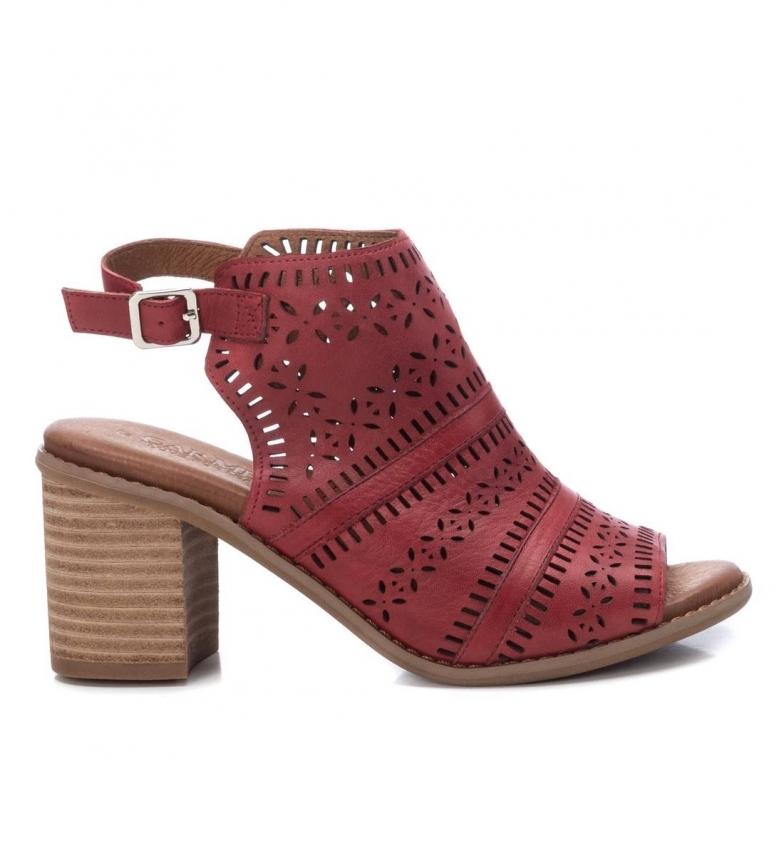 Comprar Carmela Botines de piel 067679 rojo -Altura del tacón: 8cm-
