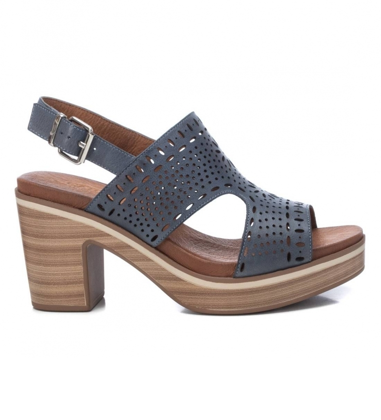 Comprar Carmela Sandalias Piel  067711 -Altura Tacón: 8cm- azul
