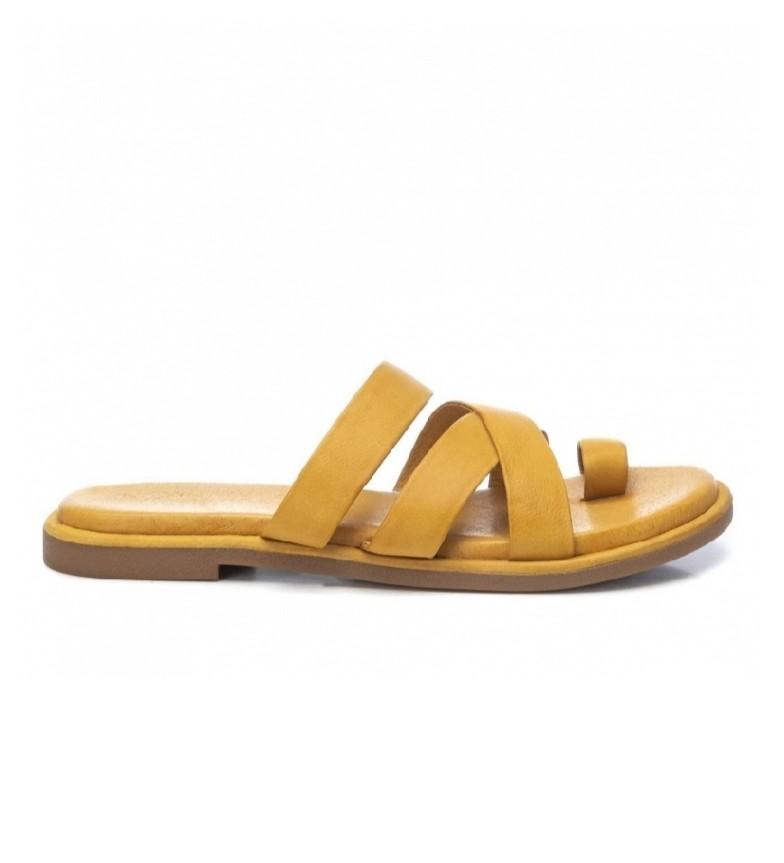 Comprar Carmela Sandali in pelle 067770 giallo