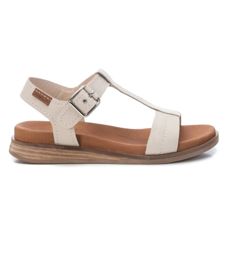 Comprar Carmela Leather Sandals 067850 white