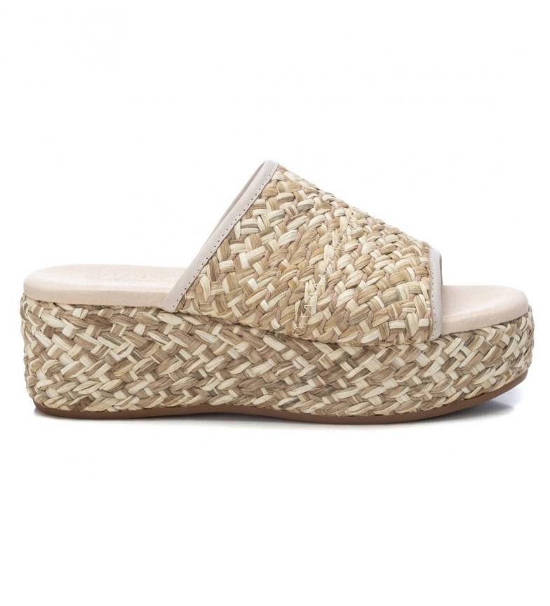 Comprar Carmela Sandalias de piel 067851 blanco hielo -altura cuña: 6cm-