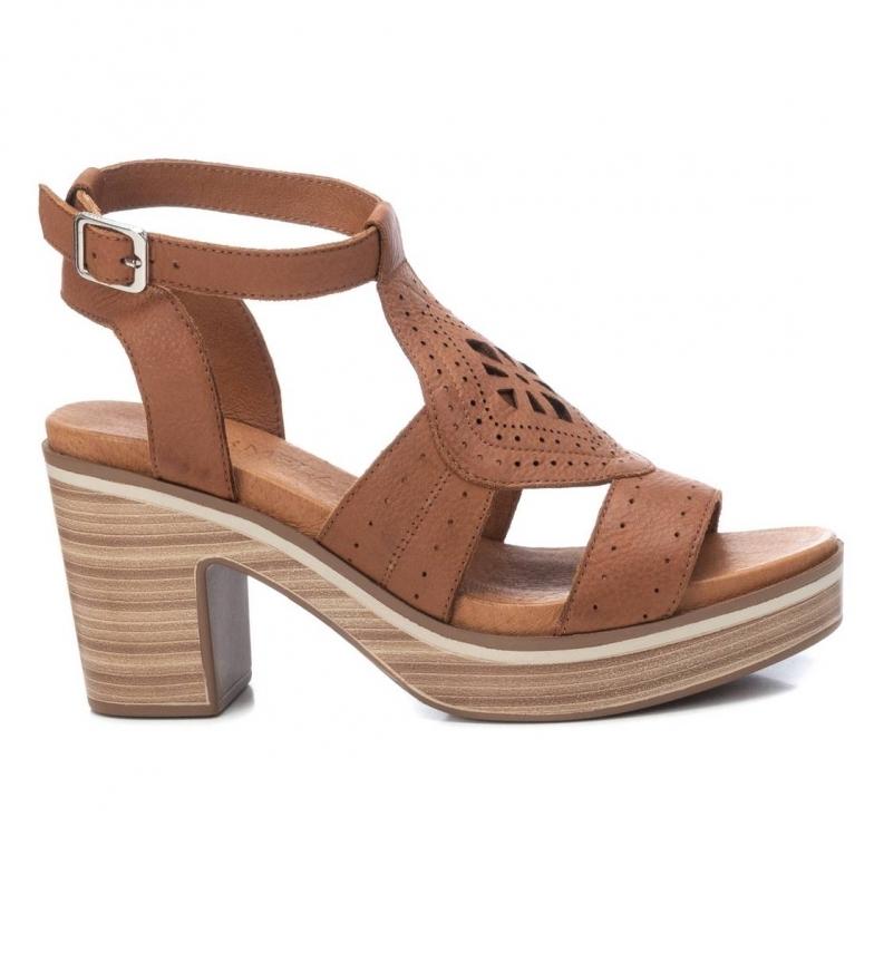 Comprar Carmela Sandali in pelle 067889 -Altezza tacco: 9 cm- marrone