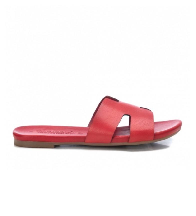 Comprar Carmela Sandali in pelle 067891 rosso