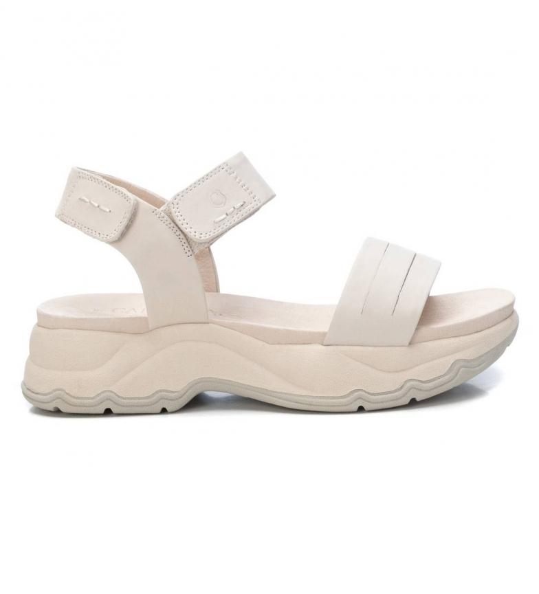 Comprar Carmela Leather Sandals 067893 white