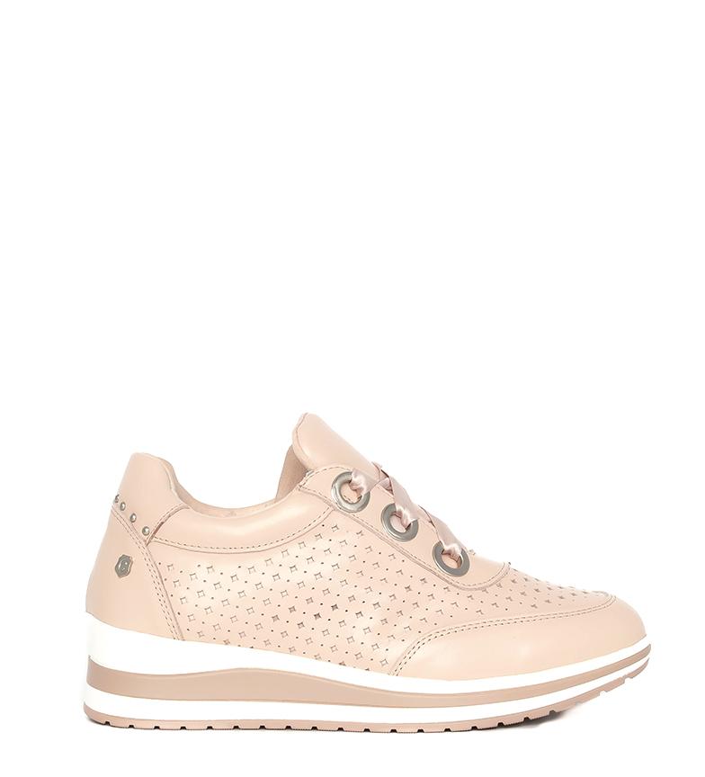 Comprar Carmela Sapatos de couro 066702 preto - Altura da cunha: 5cm