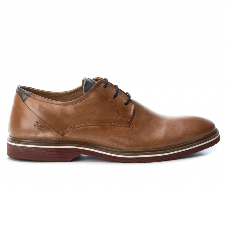 Comprar Xti Sapatos de couro de camelo 66656