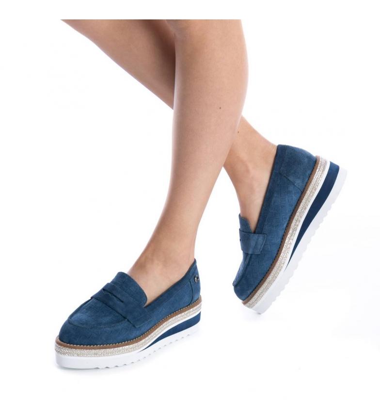 Carmela Altura Carmela Mocasín Mocasín jeans serraje serraje Carmela jeans plataforma 5cm 5cm Altura plataforma wIRCnqwTr