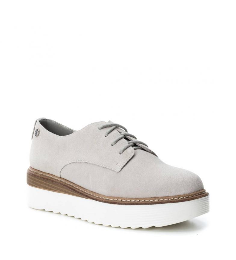Carmela Altura 5cm hielo Zapatos Carmela plataforma de serraje Zapatos Oxford 5SqORnw