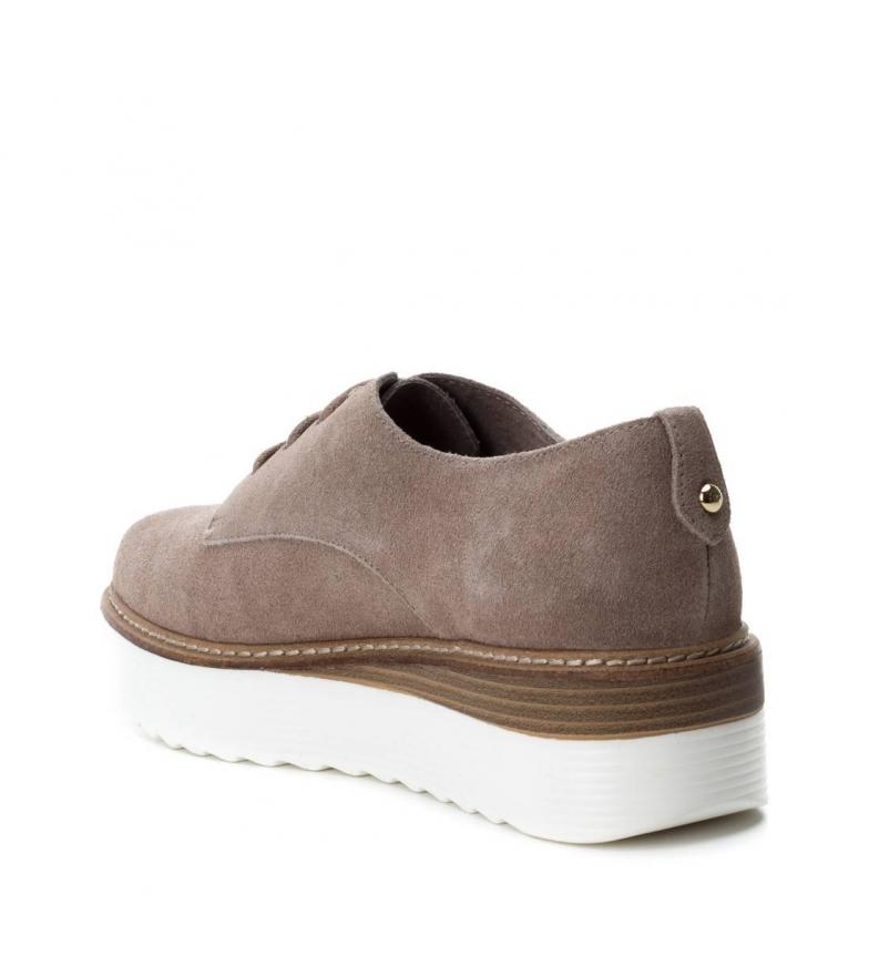 Carmela De Plataforma5cmTaupe Serraje Zapatos Oxfordaltura 0XnPwOk8