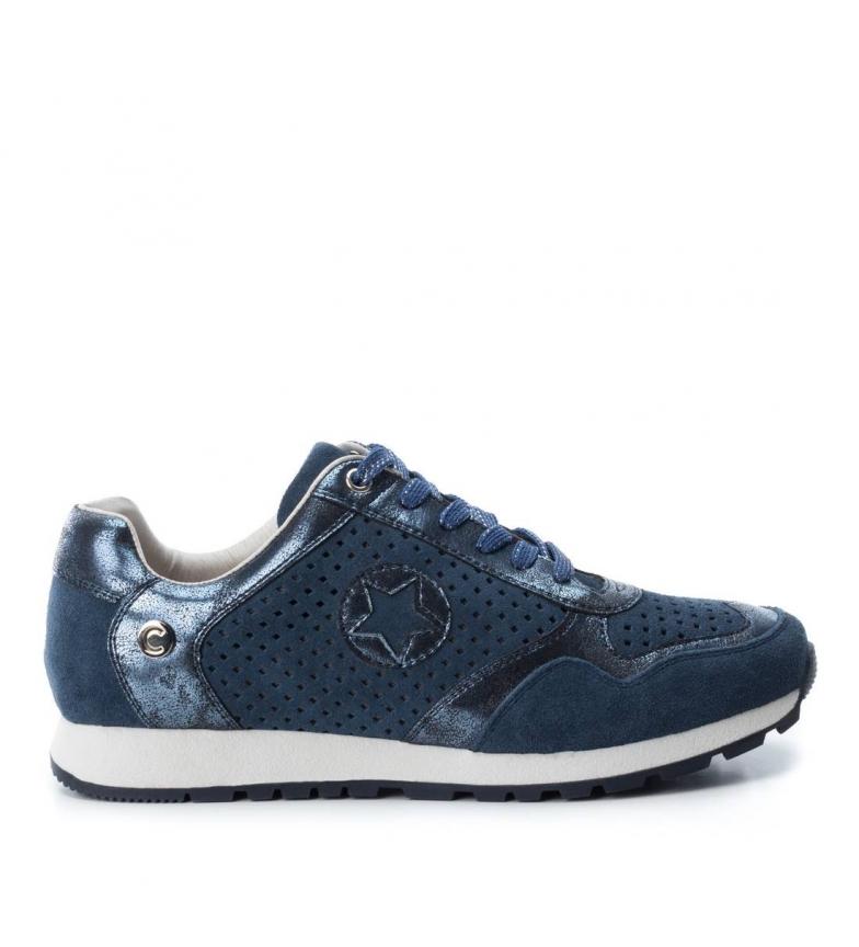 Carmela Zapatillas de piel 066026jea jeans