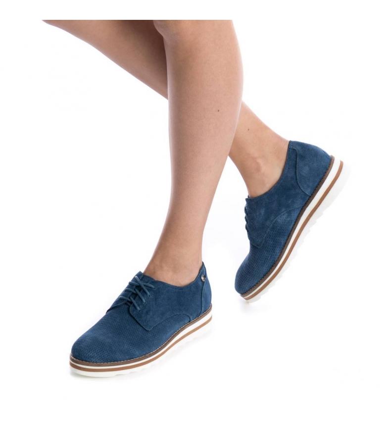 Altura Mocasín Carmela jeans Carmela serraje 3cm de Mocasín plataforma EqAYH