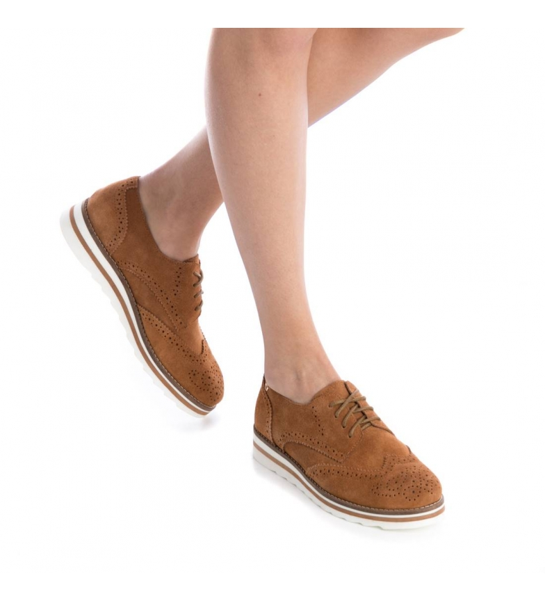 serraje Zapatos camel Oxford Carmela de H1wqEdnR