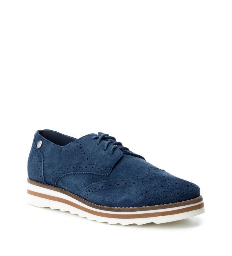 oxford serraje Zapato Carmela de jeans vaRgwq