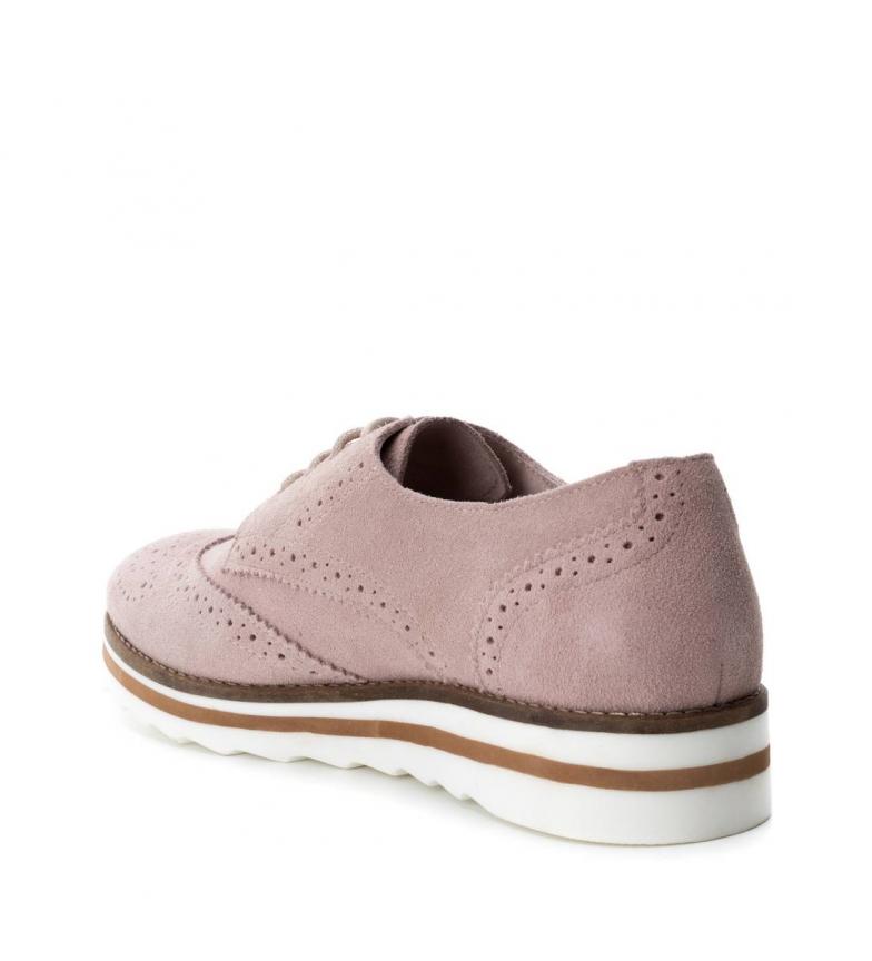 Zapatos Carmela Zapatos de serraje Oxford Carmela nude E8pnCwxq0
