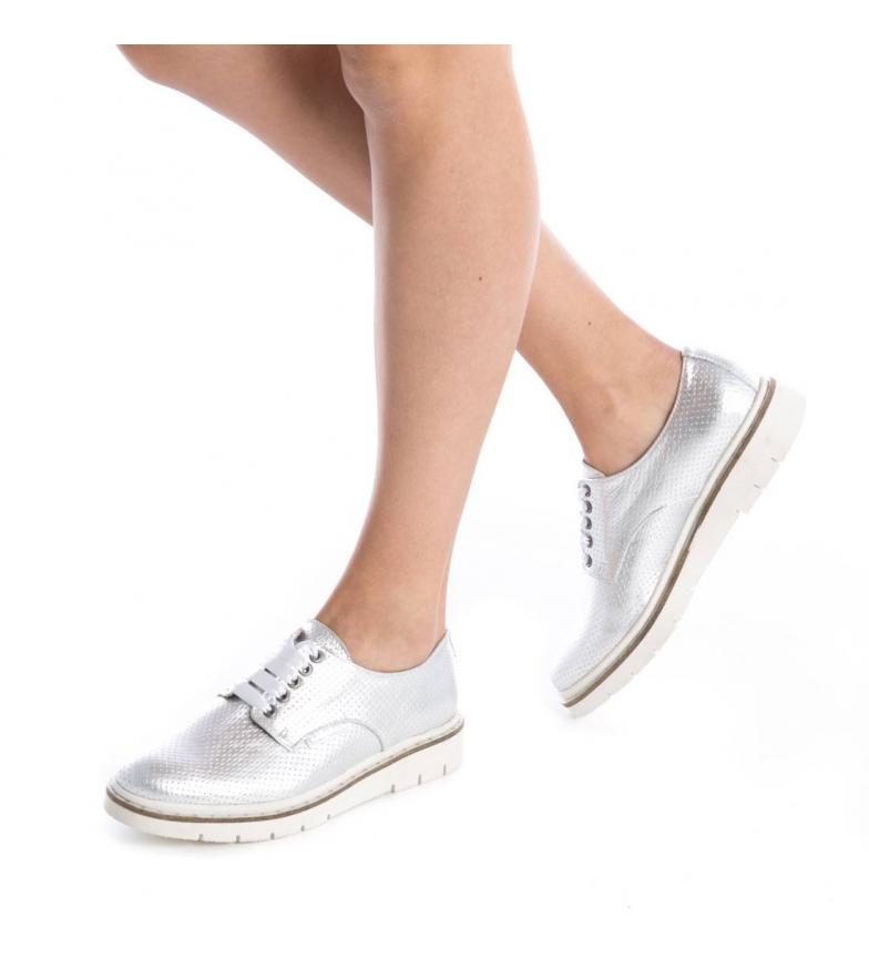 de Oxford plata Zapato Carmela piel HgxRa5q