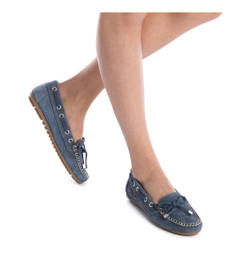 Náutico de Carmela jeans piel de Náutico Carmela piel TwTHI4q