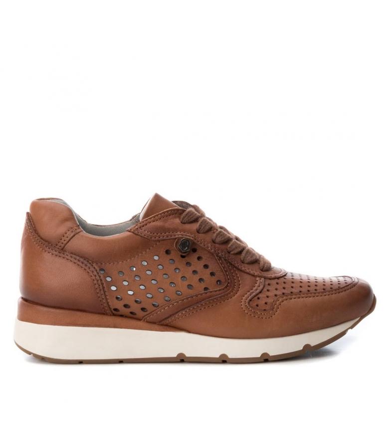 Comprar Carmela Sneakers in pelle 066748 cammello