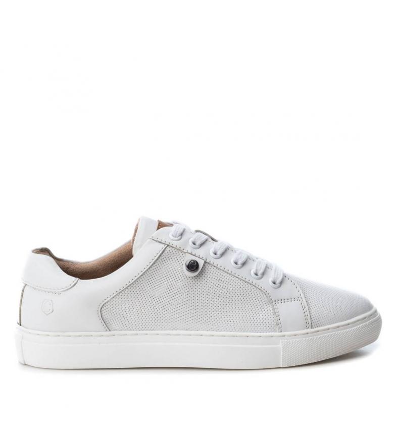 Comprar Carmela Zapatillas de piel 066644 blanco