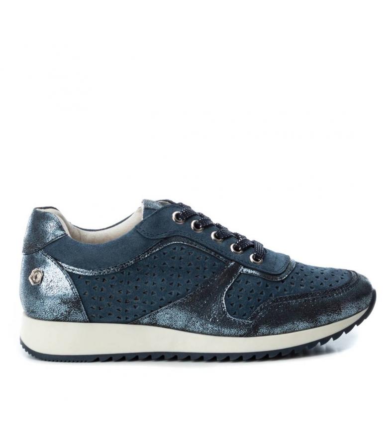 066614 Zapatilla Piel Jeans De Carmela tshrxdQC