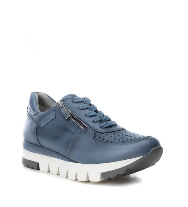 Zapatillas Jeans De Carmela Piel 066792 QxshdrCt